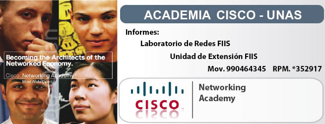 Academia CISCO UNAS